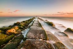 Hengistbury Head, Dorset (cdholdsworth) Tags: sunset sea coast dorset slowshutter hdr hengistburyhead hoyandfilter nikond300 tokina1116