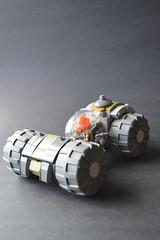 cLunKer (Rynzer) Tags: lego rover steam racer steampunk