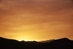 sunset (Aaron Carlsson) Tags: sunset clouds palmsprings mountians