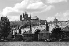 Heaven, land, and water... (c.flessen) Tags: bridge river prague cathedral czechrepublic charlesbridge vltava stvituscathedral karlvmost katedrlasvvta