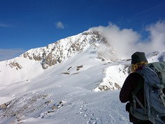"""Looking across Sella Monte Aquila to Corno Grande • <a style=""""font-size:0.8em;"""" href=""""http://www.flickr.com/photos/41849531@N04/17344781876/"""" target=""""_blank"""">View on Flickr</a>"""