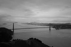 This happened in San Francisco today (Michael Dunn~!) Tags: sanfrancisco bridge sky bw clouds goldengatebridge suspensionbridge marinheadlands photowalking photowalking20130106