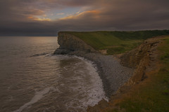 Nash Point (lee.james051985) Tags: clouds nash point blue red blueskies dark skies cloudy beach pebbles rock unlucky