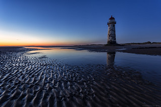 Talacre Blue Hour (explored 30/7/16 #3)