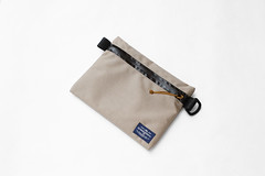 Flat Pouch Sand 03 (Imagery Bags) Tags: zipper ykk waterresistant flatpouch drypouch