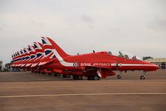 Red Arrows (Tony Howsham) Tags: red canon eos force hawk aircraft air royal sigma airshow arrows bae raf t1 fairford riat 2016 raffairford 70d 18250