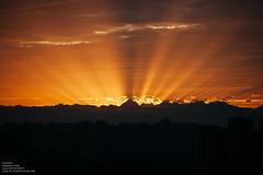 (muzinan) Tags: nature sunset sun sky       city