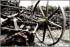 Cogs Coils & Chains (lowe_steff) Tags: mechanical antique farming cogs