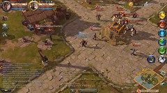 Town Square - Albion Online (JamesGoblin) Tags: mac linux windows clicktomove multiplatform crossplatform android albiononline multiplayer rpg computer videogames onlinegames games cyberculture computers fun entertainment fantasy medieval sandbox pc gaming game pvp mmorpg mmo online albion screenshot screenshots townsquare interface avatar avatars names guild gathering outdoors crowd birdseyeview birdseye
