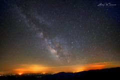 Nightscape Pollution (Larry W Brown) Tags: virginia nightscape astrophotography lightpollution milkyway shenandoahnationalpark