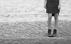(Donald Palansky Photography) Tags: sonyslta99v 70200mmf28 people sand boots dress stripes