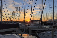 birthday34 (WITHIN the FRAME Photography(5 Million views tha) Tags: marina harbour masts silhouettes yachts sunset westcoast wide travels tourism light shadows eos6d 1635mmlens southafrica