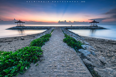 Sanur Sunrise (Helminadia Ranford) Tags: sanur sunrise bali indonesia travel