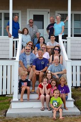 Family Photo At The Cottage (Joe Shlabotnik) Tags: annm carolina rich verne davidb maine july2016 johnm davidm violet peter higginsbeach judyb sue nancy gabriella phyllis helent dylans 2016 margaret diego katem everett afsdxvrzoomnikkor18105mmf3556ged