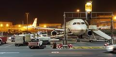 Abu Dhabi bei Nacht (de.bu) Tags: airbus planes flugzeug planespotting spotting abu dhabi etihad a320 a340 night
