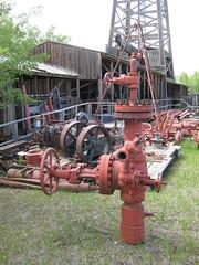 Sundry oil equipment (jamica1) Tags: calgary heritage park oil petroleum alberta canada valve