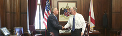 08-15-2016 Governor Bentley meets with new Speaker of the House Mac McCutcheon