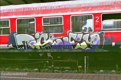 imm000_1A (coloredsteel) Tags: rossmann 400 fuji graffiti ulm train writing bombing trainspotting coloredsteel streetart analog street photography minolta 7000 af