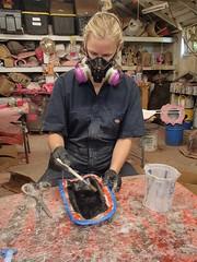 Calf Layup (thorssoli) Tags: schick hydro robotrazor razor sdcc comiccon sandiego conx entertainmentweekly costume suit prop replica hydrorescue schickhydro