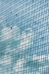(Anna Wyszomierska) Tags: warsaw clouds building windows reflection sky glass photography