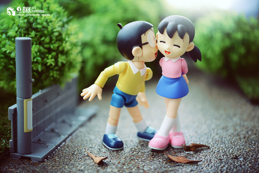 Toys And Love : The world s best photos of nobita and shizuka flickr
