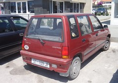Daewoo Tico SX (Fuego 81) Tags: daewoo tico st109jp trogir croatia
