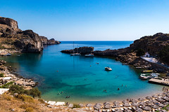 Rhodes (Joe Vio) Tags: beach travel seascape rodos egeo greece gr