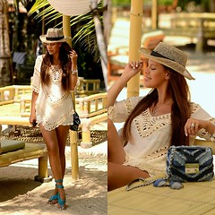 Crochet Summer Whites by Tamara C., Blogger at TC Style Clues from Amsterdam, Netherlands (9lookbook.com) Tags: alexanderwang amsterdam bali beachlook bohemian bohobag boholook boybag chanel chloebag choker colourfulrebel converse denimjacket fauxfur frenchberet fringe gucci jackyluxury laceupdress leatherjoggers mango michaelkors minimarcie nye overthekneeboots panamahat partyoutfit plaid poncho rainbowaviators riverisland romper sheindress shirtdress snakeprint sneakers summerlook supertrash tcstyleclues whitetunic zara desigual