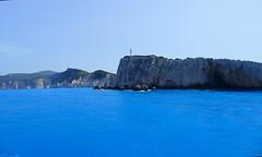 Homenaje a la poetisa Safo (alfonsocarlospalencia) Tags: safo grecia poetisa islas jnicas suicidio azul turquesa faro costa paraso rocas luz maravilla acantilados color