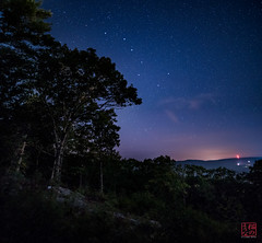 Dipper From Daniels Hill (Mitymous) Tags: hike jessiecarpenter longexposure night summer16 sunset zeiss21 bigdipper dipper