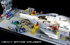 Classic Space Scene 01 (tastenmann77) Tags: lego space spaceship