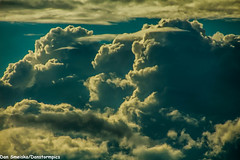 Textured Skies on August 11 2016 (Dan's Storm Photos & Photography) Tags: crepuscular crepuscularrays sun sunrays skyscape skyscapes sky updraft updrafts cumulus cumulonimbus convection clouds cloud cumulusclouds rain rainshaft rainshafts rainshowers landscape landscapes sundog sundogs sunset sunsets pileuscapcloud pileuscloud pileus