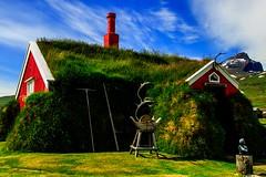 Casa islandese 2 (u.giommetti) Tags: colore color cielo sky rosso red casa house architettura architecture islanda iceland europa europe