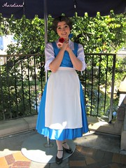 Fantasy Faire- Princess Belle's Village Dress (Aurotiana) Tags: disneyland belle fantasy faire fantasyland beauty beast tale meet greet disney princess