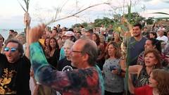 Bridgehenge, Fair Harbor, Fire Island, NY 2016 (BruceLorenz) Tags: bridgehenge fair harbor 2016 fire island ny new york bridge henge bruce lorenz allrightsreserved dock sunset sun set ritual beach fun ancient aunt claire walsh