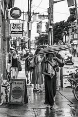 Hats For A Rainy Thursday (Metrix X) Tags: toronto queenstreet utata:project=tw540
