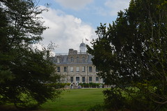 Through the Trees to the Mansion (CoasterMadMatt) Tags: kingstonlacy2016 kingstonlacy kingston lacy trees tree woods woodland grounds kingstonlacyestate architecture structure nationaltrust national trust property wimborneminster wimborne minster dorset southwestengland