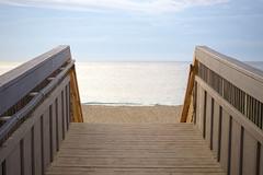 To The Beach (Rich Renomeron) Tags: olympusmzuiko1442mmf3556ez olympusomdem10 beach bethanybeach