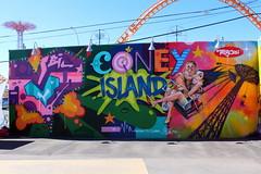 Coney Island - Coney Art Walls: Tats Cru (wallyg) Tags: brooklyn coneyartwalls coneyisland kingscounty newyork newyorkcity ny nyc streetart tatscru mural
