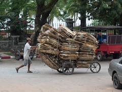 Traffic at Cambodian/Thai Border
