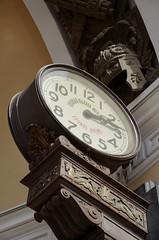 Clock is ticking (@u.s.e.f.u.l.i.d.i.o.t) Tags: voyage travel clock metal architecture stpetersburg nikon russia saintpetersburg russie saintpetersbourg d5100