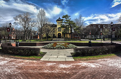 HDR version of Rutgers (brogan_rebecca) Tags: