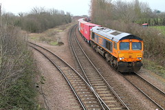 66735 (marcus.45111) Tags: train march gm flickr railway dslr freight freightliner 2015 flickruk canoncameras gbrf 1100d 66735 moderntraction marchwestjunction