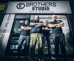 K.Brothers Tattoo Studio (JackKocan.com) Tags: tattoo portraits studio scotland shots glasgow badass headshot strobists glasgowphotogapher
