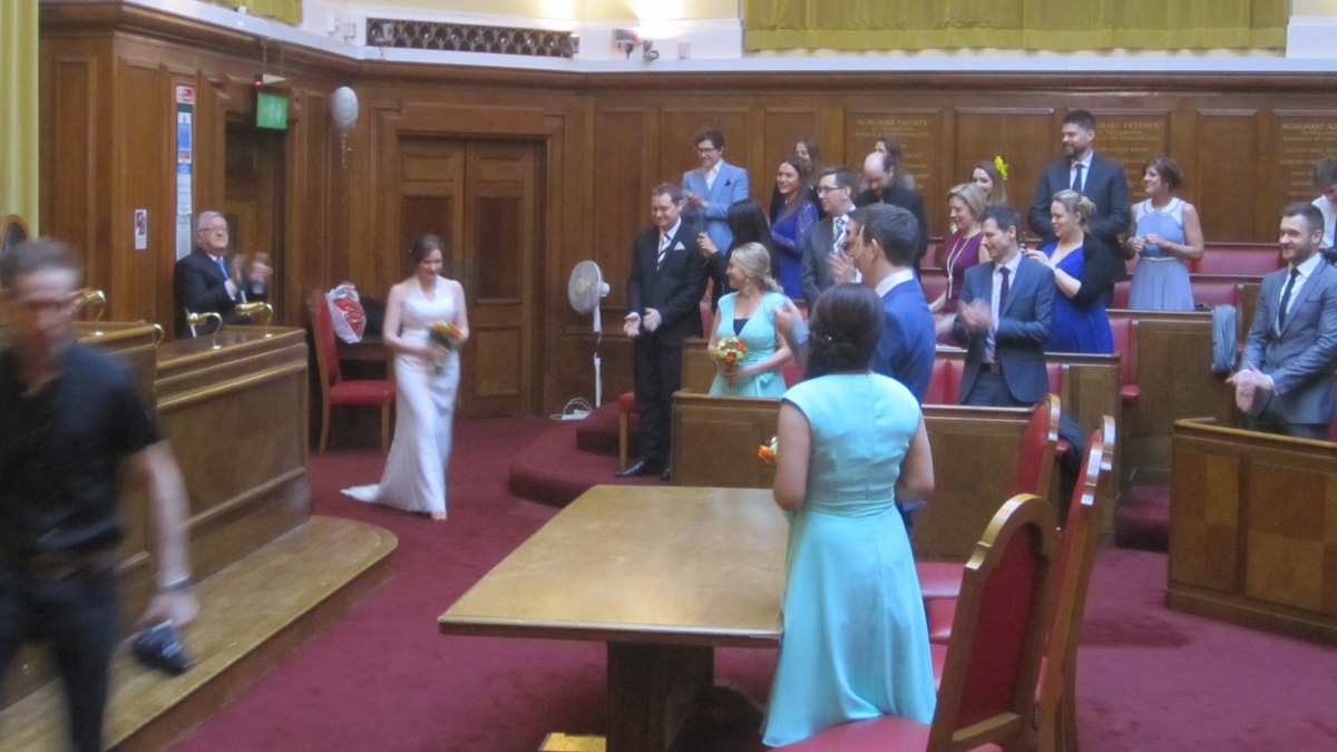 Neal and sarah wedding