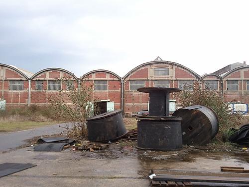 Le déclin de l'activité industrielle depuis les années 1970 a marqué l'histoire sociale du territoire © Plaine Commune