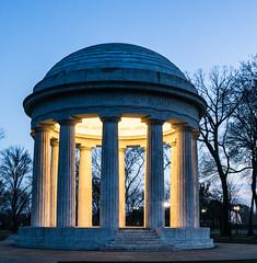 Washington DC Memorial (88_Spartans) Tags: monument evening washingtondc war sony wwii veteran emount