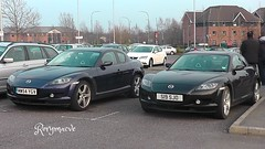 Mazda Mates! (Rorymacve Part II) Tags: auto road bus heritage cars sports car truck automobile estate transport historic motor mazda saloon rx8 compact mazdarx8 roadster motorvehicle worldcars