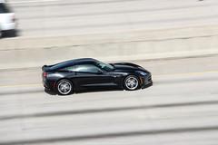 Chevrolet Corvette C7 Stingray (Hunter J. G. Frim Photography) Tags: black chevrolet highway colorado stingray denver chevy american corvette supercar v8 c7 chevroletcorvettec7stingray