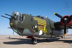 """B-24J Liberator NX224J """"Witchcraft"""" (KoryC757) Tags: arizona phoenix consolidated gateway witchcraft liberator mesa aza iwa collingsfoundation b24j nx224j phxspotters"""